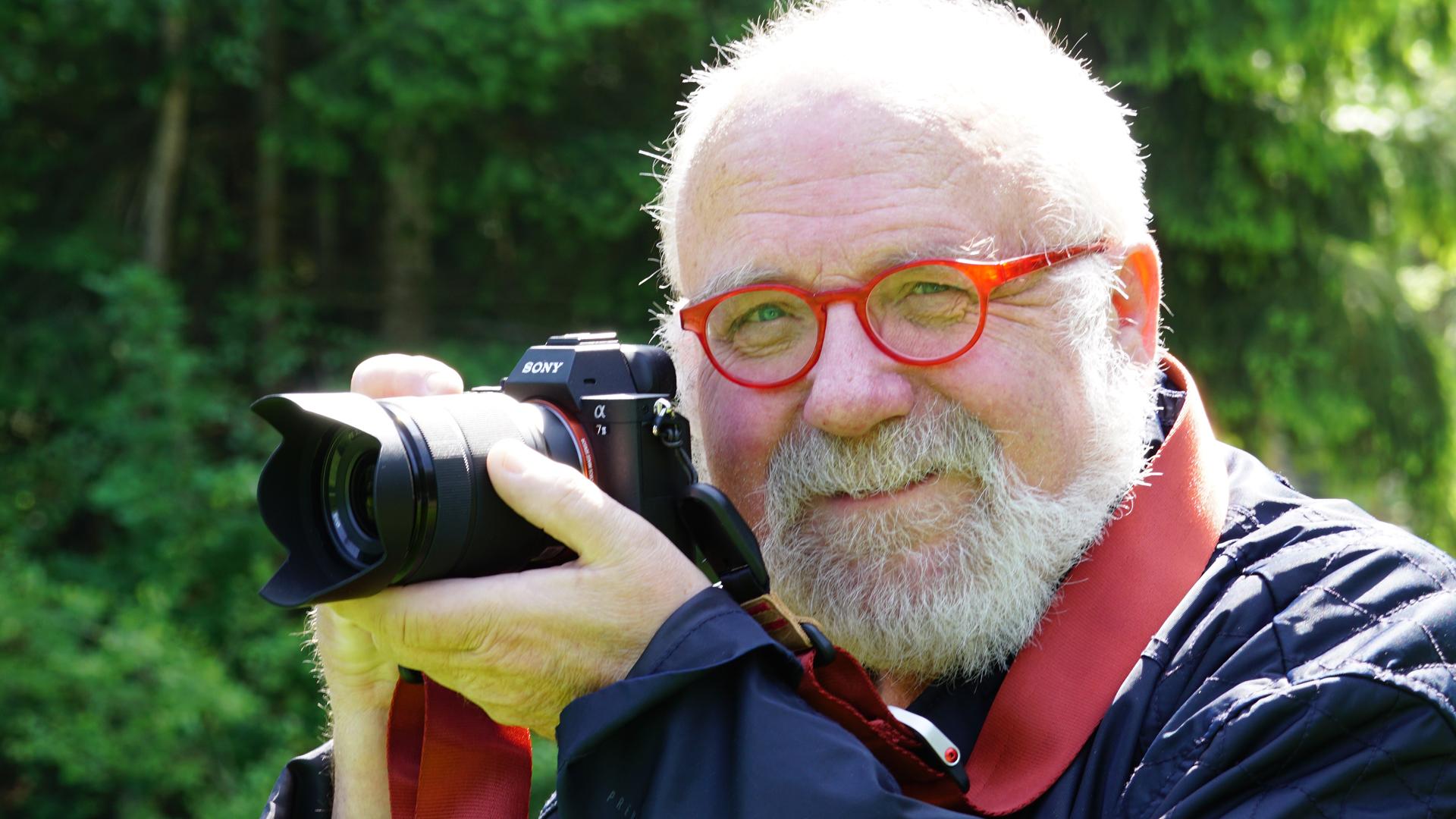 Klaus Bolz, Fotografenmeister mit der Sony alpha II