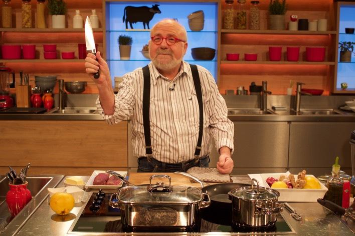 Klaus Bolz bei der Küchenschlacht